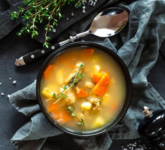 Image La soupe populaire !
