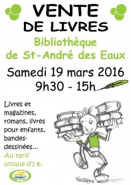 vente de livres biblioth que municipale saint andr des eaux wik nantes. Black Bedroom Furniture Sets. Home Design Ideas