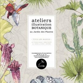 atelier d\'illustration botanique - Jardin des plantes | WIK Nantes