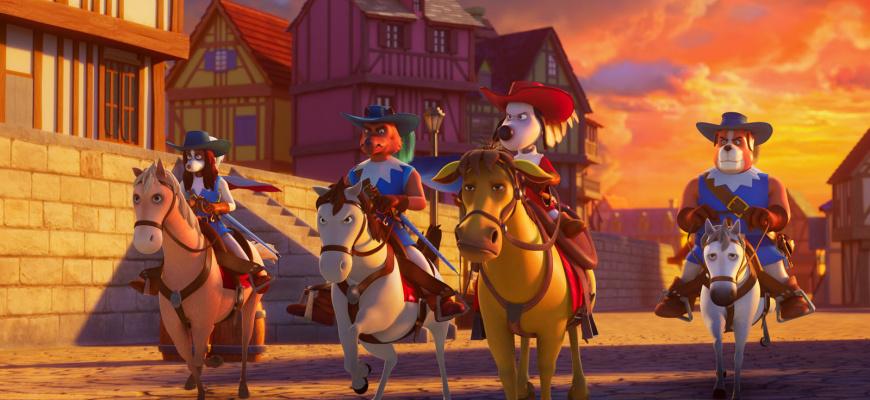 D'Artagnan et les trois Mousquetaires Animation