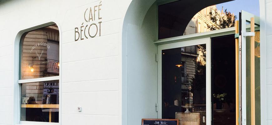 Café Bécot Salon de thé