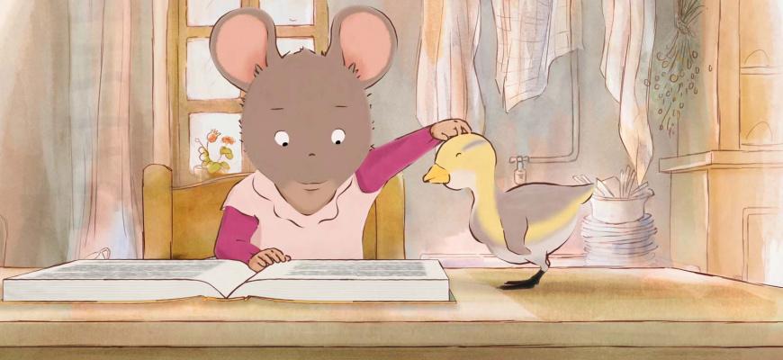 Ernest et Célestine en hiver Animation