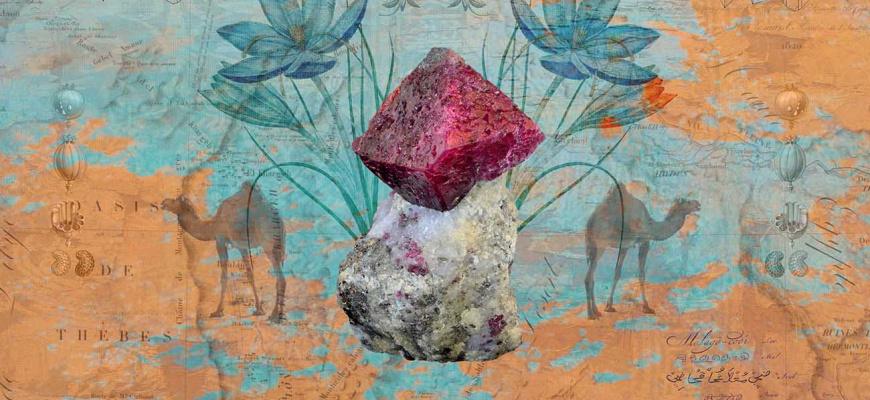 Retour d'orient soie, épices et pierres précieuses Pluridisciplinaire