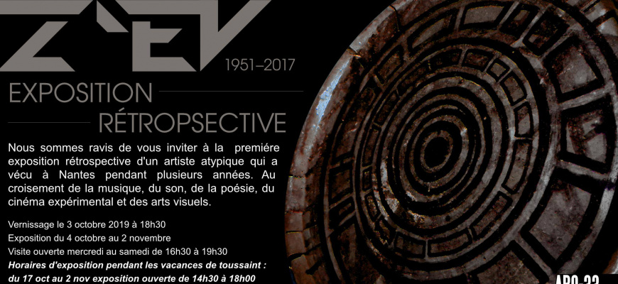Exposition rétrospective zev Pluridisciplinaire