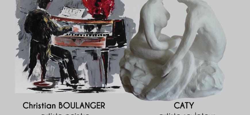 Christian Boulanger et Caty Exposition collective