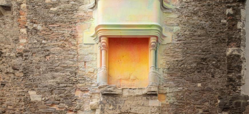 Le temps entre les pierres Art contemporain