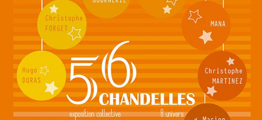 56 Chandelles #7 Art contemporain