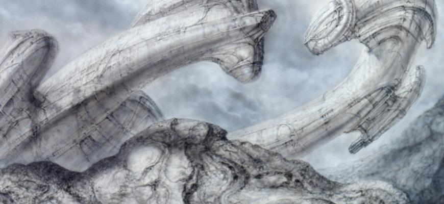 H.R. Giger Art graphique