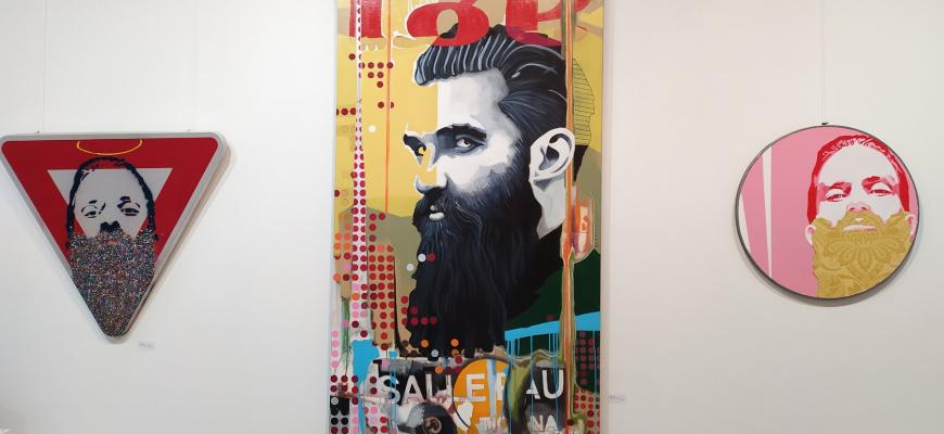 Les nouvelles collaborations Street-Art Pop-Art de la galerie Exposition collective