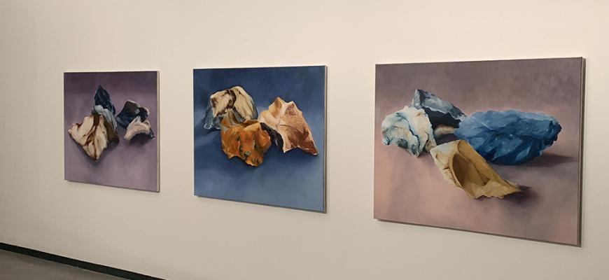 Du caillou à l'iguane, Patricia Cartereau & Xavier Navatte Art contemporain