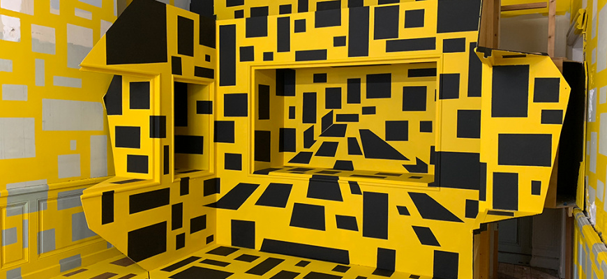 Georges Rousse, Polygones Art contemporain