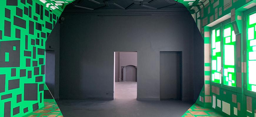 Georges Rousse, Polygones Art contemporain