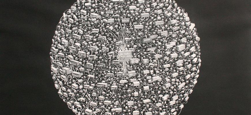 Occulte cosmos - Pierre Le Saint Art contemporain