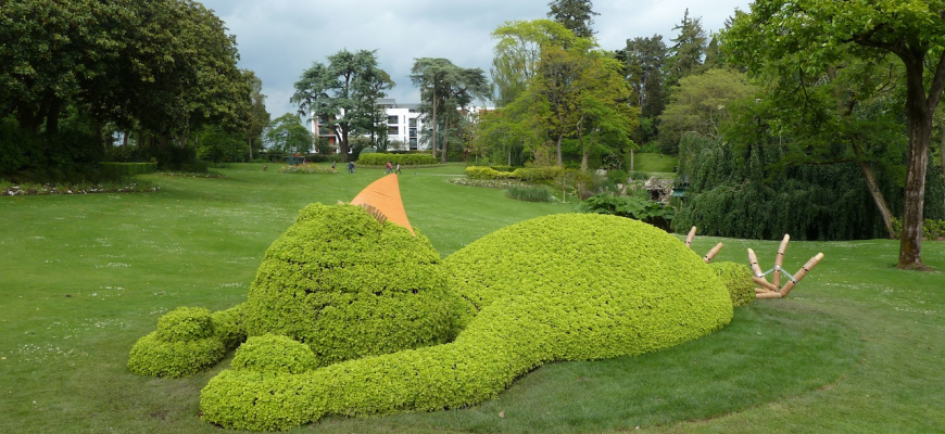 Claude Ponti - Jardin des plantes de Nantes   WIK Nantes Nantes