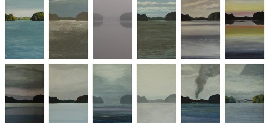 Vue imprenable, la question du paysage vivant Peinture
