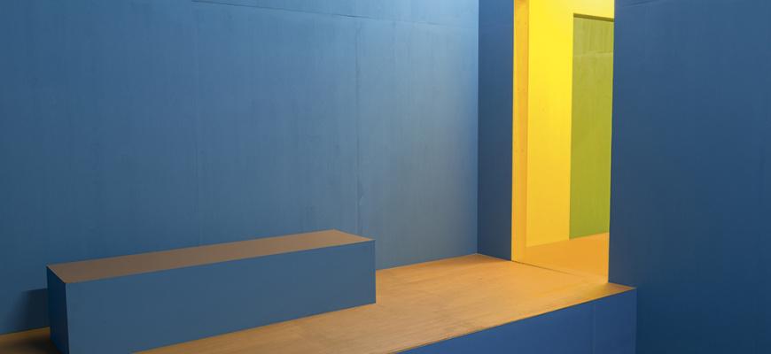 Krijn de Koning, Des volumes et des vides Art contemporain