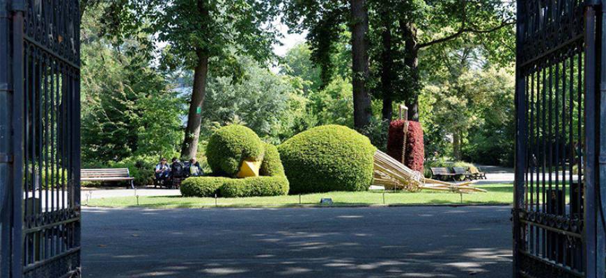 Le jardin déjante de Claude Ponti - Jardin des plantes de ...