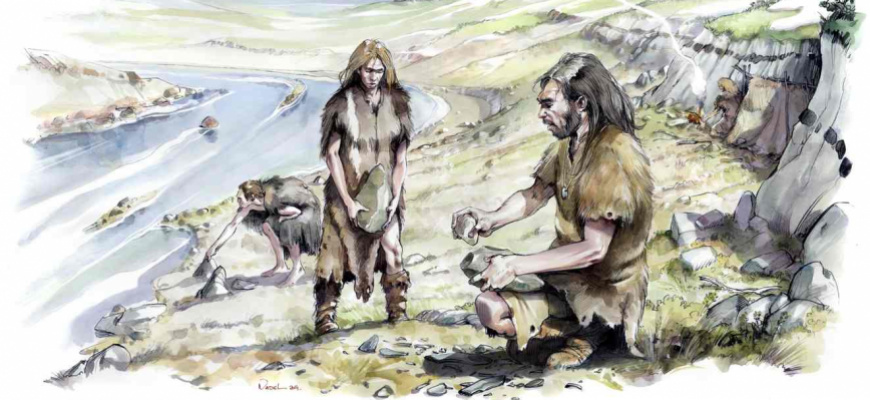 Néandertal, le temps d'une journée Histoire