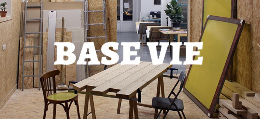 Base Vie, une exposition de Projéta Art graphique