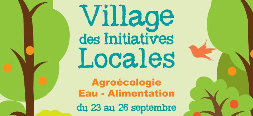 Le village des initiatives locales Conférence/Débat