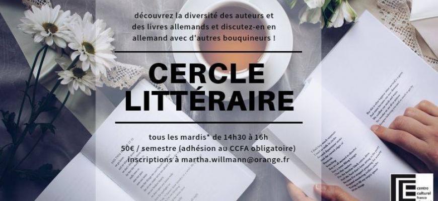 Cercle littéraire Animation