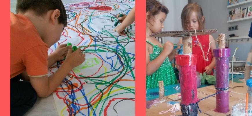 Cycle d'ateliers - Graines de petits artistes - 18 mois/3 ans  Atelier/Stage