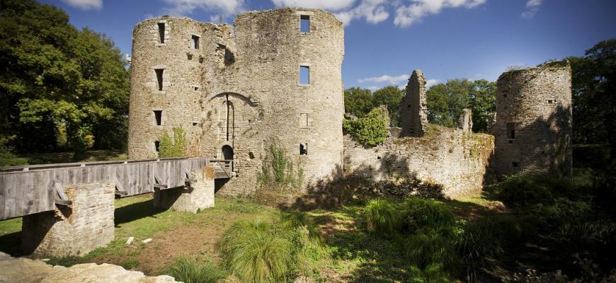 Visite libre - Le château de Ranrouët Visites et sorties