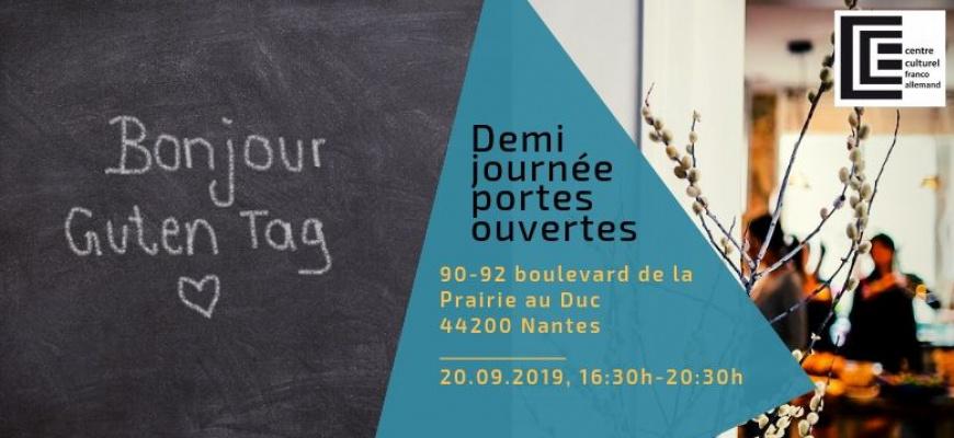 Demi-journée portes ouvertes au Centre culturel franco-allemand Rencontre