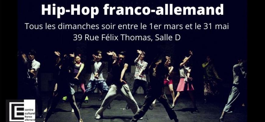 Atelier de Hip-Hop franco-allemand Atelier/Stage