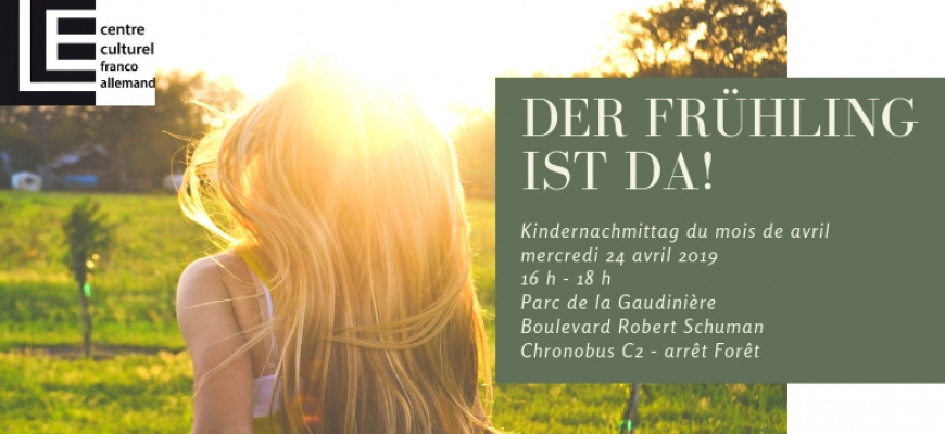 Kindernachmittag du mois d'avril