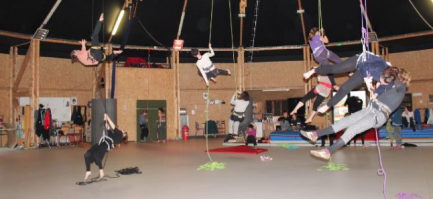 stage danse voltige et verticale Atelier/Stage