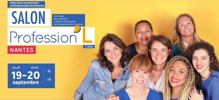 Salon de la reconversion professionnelle des femmes Salon