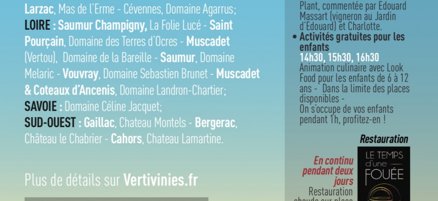 Salon du vin Les Vertivinies 2019 Salon