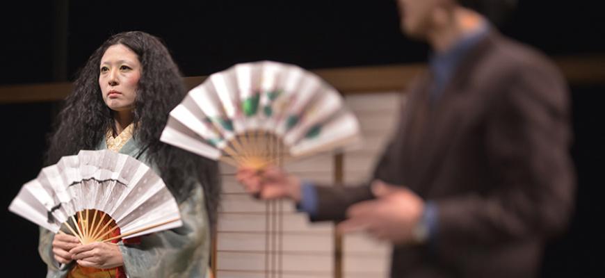 Lady Aoi et Hanjo Théâtre