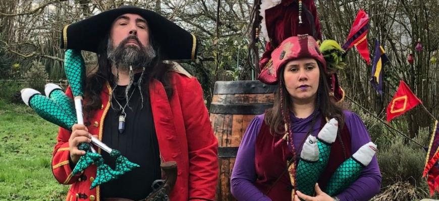 Spectacle de pirates avec la Cie Baldaboum Théâtre