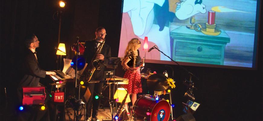 Cartoon frenesie trio Ciné-concert