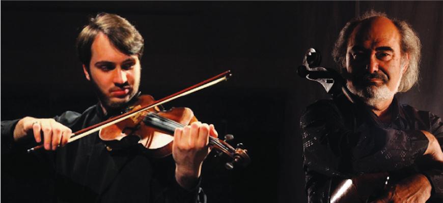 """Concert """"duo violon-violoncelle"""" Classique/Lyrique"""