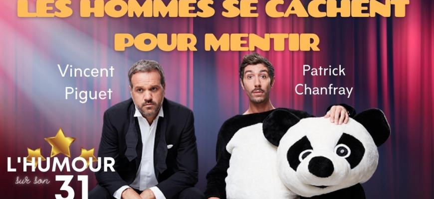 Les Hommes se cachent pour Mentir en spectacle à Nantes Humour