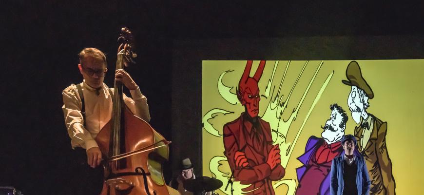 Jazz en Phase - Cie à Toute Vapeur - L' Affaire Moussorgsky Jazz/Blues