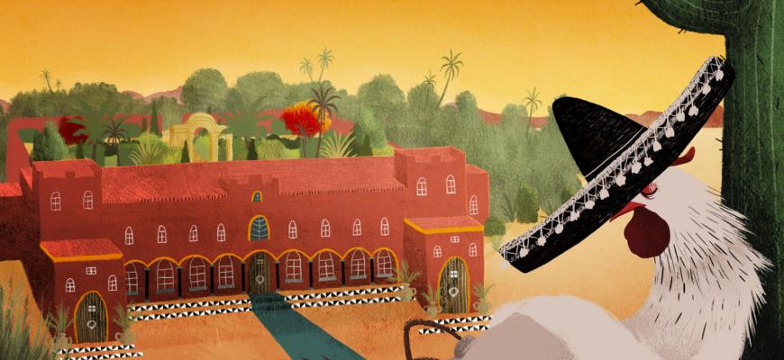 La Chouette en toque Animation