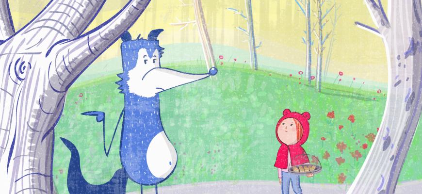 Loups tendres et loufoques Animation