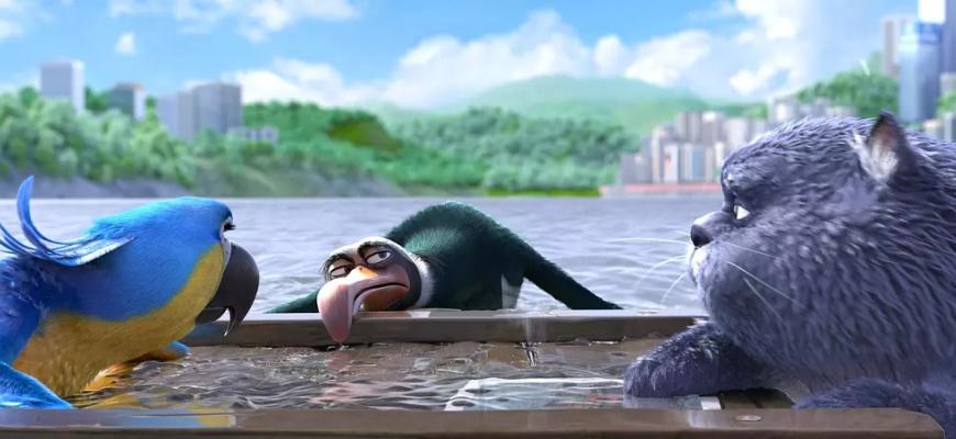 Oscar et le monde des chats Animation