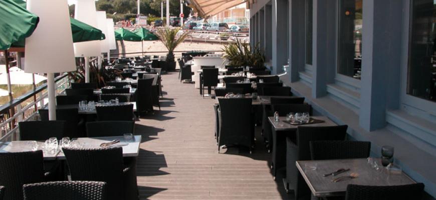 Hotel de la plage  Poissons & fruits de mer