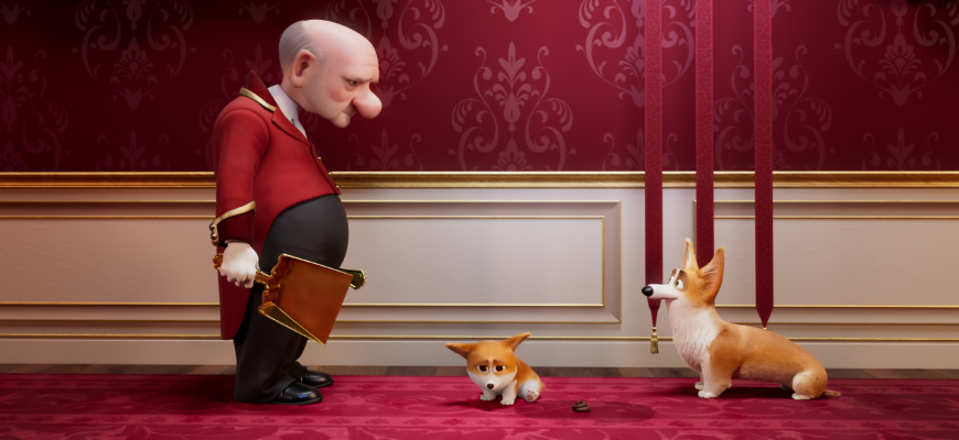 Royal Corgi Animation