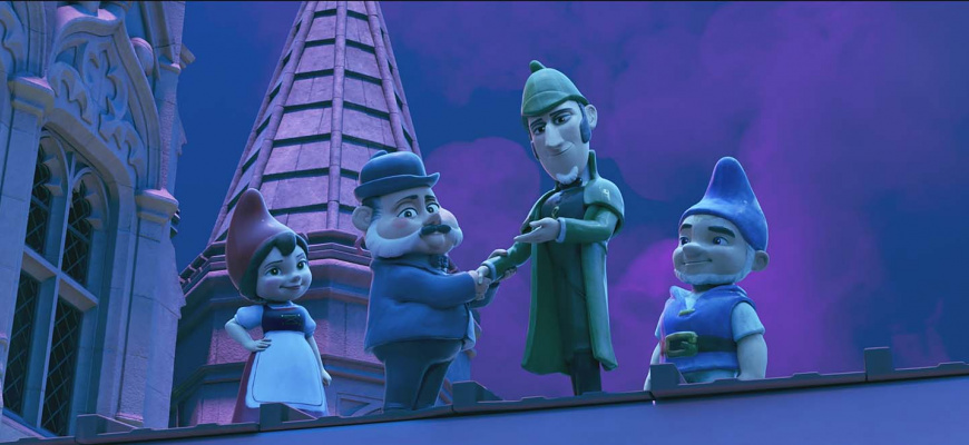 Sherlock Gnomes Animation