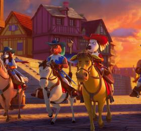 D'Artagnan et les trois Mousquetaires