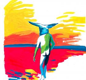 Image Le fleuve Art contemporain