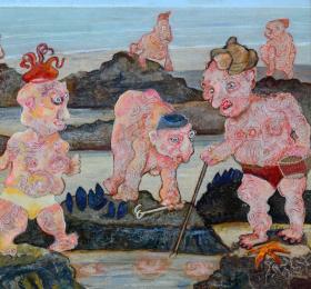 Image Bernard Briantais  Art contemporain