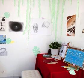 Image Portes ouvertes à l'Atelier + Expo élèves & professeur Art graphique