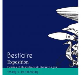 Image Bestiaire - Gwen Guegan Art graphique